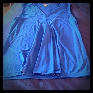 Dana Buchman Cobalt blue top